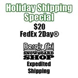 Berg's Ski & Snowboard Shop $20 FedEx 2Day Shipping