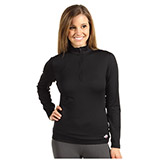 Hot Chillys Micro-Elite Chamois 8K Solid Zip-T Top - Women's