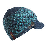Turtle Fur Mountain Girl Visor Beanie