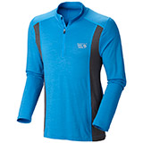 Mountain Hardwear Integral Pro Long-Sleeve Zip T Top- Men's