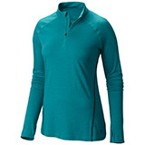 Mountain Hardwear Integral Pro Long-Sleeve Zip T Top - Women's