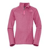 North Face HW Agave 1/4 Zip Jacket - Girls'