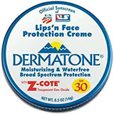 Dermatone Lips 'n Face ProtectionCreme with Z-Cote Mini Tin