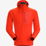 Arc'teryx Konseal Hoody 3/4 Zip - Men's