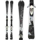 Volkl Essenza 8.0 Skis with 10.0 Fastrak III TP B