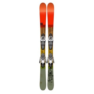 K2 Poacher Jr. Skis with Fasttrak2 4.5 Bindings - Youth