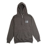 Lib Tech Block Lock Zip Hooded Sweatshirt - Men's
