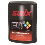 Swix F4 Premium Warm Liquid Glide Wax - 100ml