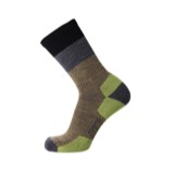 Point6 Hiking Block Stripe Light Crew Socks - Unisex