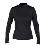 Hot Chillys Micro-Elite Chamois Solid Zip-T Top - Women's