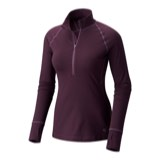 Mountain Hardwear Butterlicious Long-Sleeve Half-Zip Top - Women's