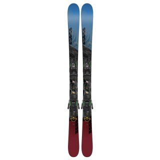 K2 Poacher Jr. Skis with FDT 7.0 Bindings - Youth