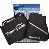 Transpack Ski 2-Piece Mesh Set - Ski Bag and Boot Backpack