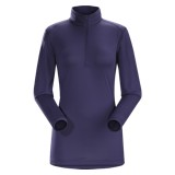Arc'teryx Phase SL Zip Neck LS Top - Women's