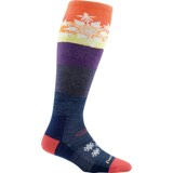 Darn Tough Snowflake Over-the-Calf Light Socks - Women's