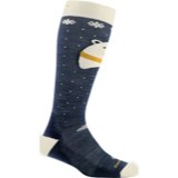Darn Tough Polar Bear Over-the-Calf Cushion Socks - Youth