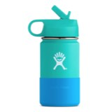 Hydro Flask Wide Mouth Kid's Bottle with Straw Lid - 12oz