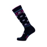 Point6 Ski Flourish Medium Over-the-Calf Socks - Unisex