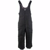 White Sierra Toboggan Insulated Bib - Youth