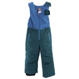White Sierra Toboggan Insulated Bib - Kid's