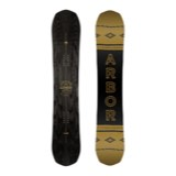 Arbor Element Black Rocker Snowboard - Men's