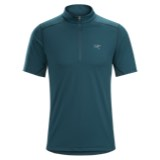Arc'teryx Accelero Comp Zip Neck SS Top - Men's