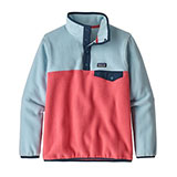 Patagonia Lightweight Synchilla Snap-T Pullover - Girl's