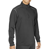 Hot Chillys Micro-Elite Chamois Solid Zip-T Top - Men's