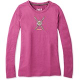 Smartwool Merino Sport 150 Powder Flower Long Sleeve Tee - Women's