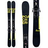 K2 Poacher Jr. Skis with FDT Jr. 7.0 Bindings - Youth