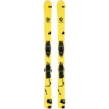 Volkl Mini Revolt Jr. Skis with 4.5 VMotion Jr. Bindings