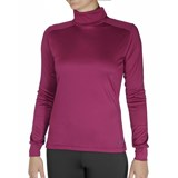 Hot Chillys PeachSkins Solid T-Neck Top - Women's