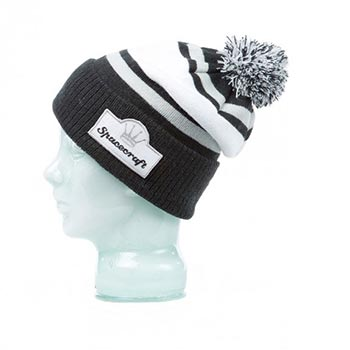 Spacecraft Retro Pom Beanie