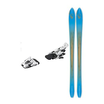 Salomon BBR 8.9 Skis with STH 12 Oversized Binding - Men's