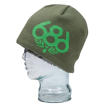 686 Wreath Fleece Beanie