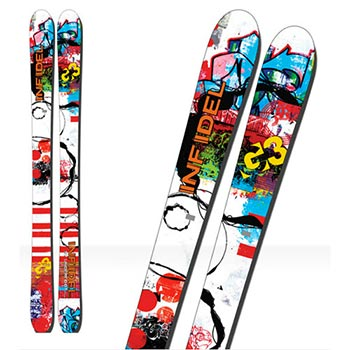 G3 Infidel Skis - Men's