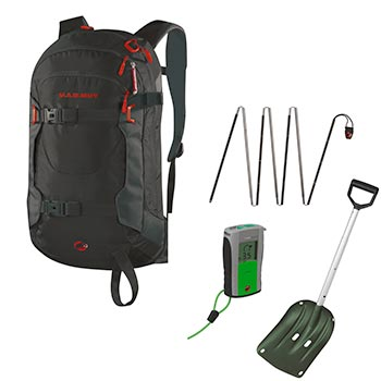 mammut avalanche safety package