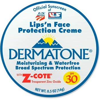 Dermatone Lips 'n Face ProtectionCreme with Z-Cote Mini Tin - SPF 30
