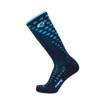 Point6 Ski Fade Ultra Light Over-the-Calf Socks - Unisex
