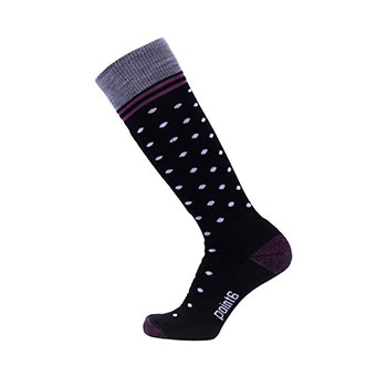 Point6 Ski Champagne Medium Over-the-Calf Socks - Unisex