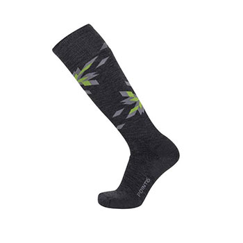 Point6 Ski Pinwheel Medium Over-the-Calf Socks - Unisex