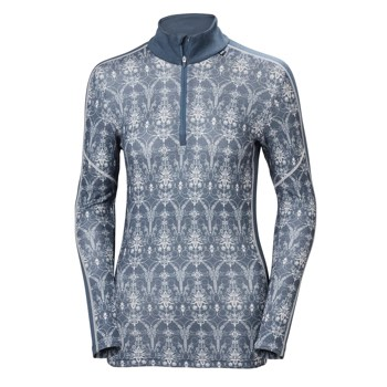 Helly Hansen HH Lifa Merino Graphic 1/2 Zip Top - Women's