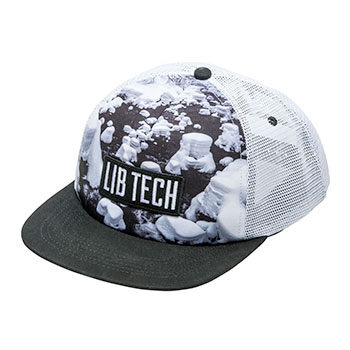 Lib Tech Photo Trucker Hat
