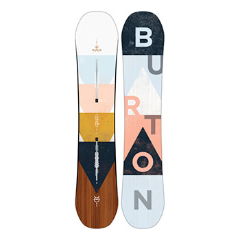 Burton Yeasayer Flying V Snowboard - Women's