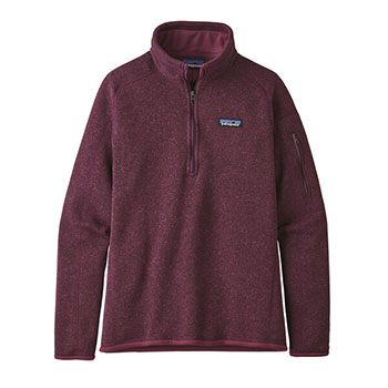Patagonia Better Sweater 1/4 Zip Jacket - Women's