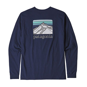 Patagonia Long-Sleeved Line Logo Ridge Responsibili-Tee - Men's