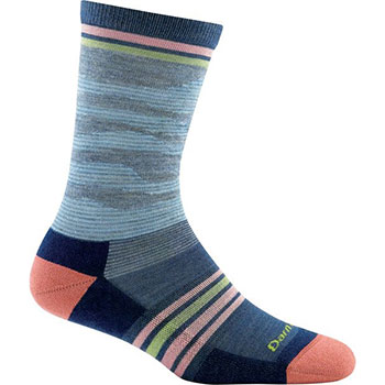 Darn Tough Waves Light Cushion Crew Socks - Women's