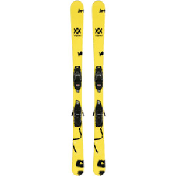 Volkl Mini Revolt Jr. Skis with 4.5 VMotion Jr. Bindings - Youth