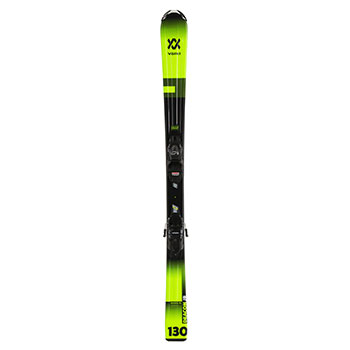 Volkl Deacon Jr. Skis with 4.5 VMotion Jr. Bindings - Youth